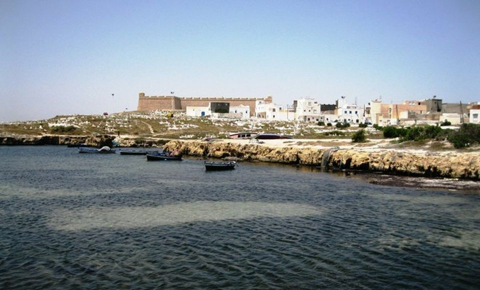 The old port of El Mahdia